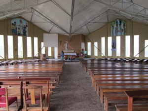 The high school chapel
